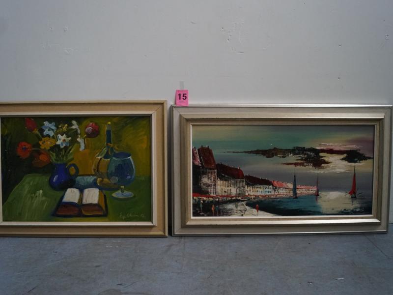 maleri auktion online